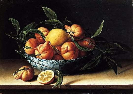 Натюрморт с апельсинами в вазе. 1634: www.liveinternet.ru/users/3485865/post126078432
